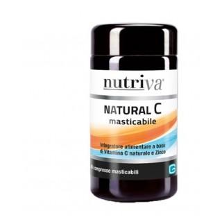 NUTRIVA NATURAL C 60CPR MASTIC