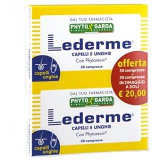 LEDERME CAPELLI UNGHIE 30CPR