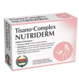 NUTRIDERM TISANO COMPLEX 30CPR