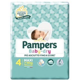 PAMPERS BD DOWNCOUNT MAXI 19PZ