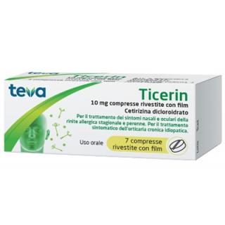 TICERIN*7CPR RIV 10MG