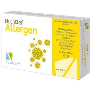 NUTRIDEF ALLERGEN 30CPR