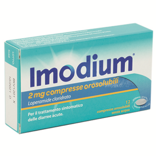 IMODIUM*8CPS 2MG