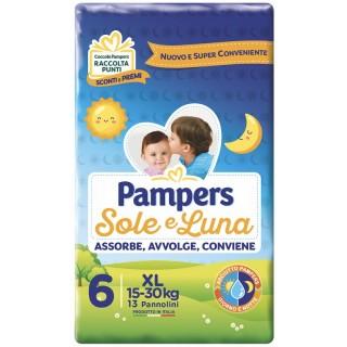 PAMPERS SOLE E LUNA XL 13PZ