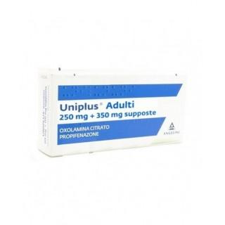 UNIPLUS*AD 10SUPP 250MG+350MG