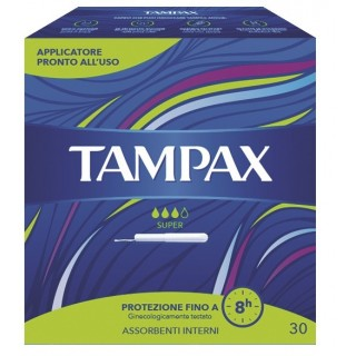 TAMPAX BLUE BOX SUPER 30PZ