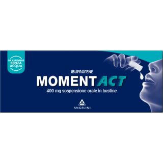 MOMENTACT*OS SOSP 8BUST 400MG