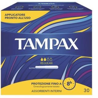 TAMPAX BLUE BOX REGULAR 30PZ