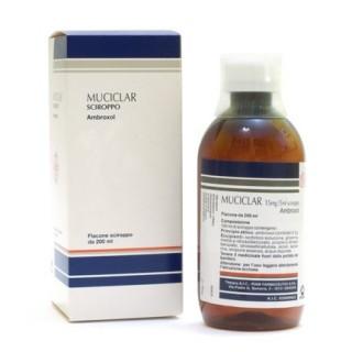 MUCICLAR*SCIR 200ML 15MG/5ML