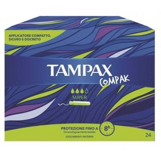 TAMPAX COMPAK SUPER 24PZ