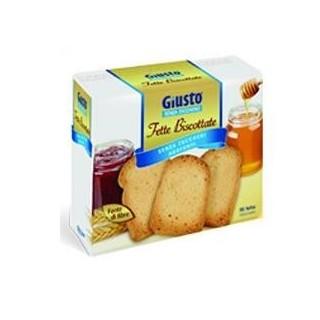 GIUSTO S/ZUCCH FETTE BISC 300G