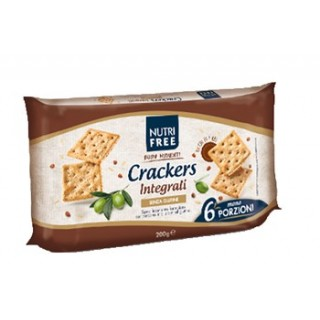 NUTRIFREE CRACKERS INTEGR 6PZ