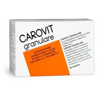 CAROVIT GRANULARE 20BUST