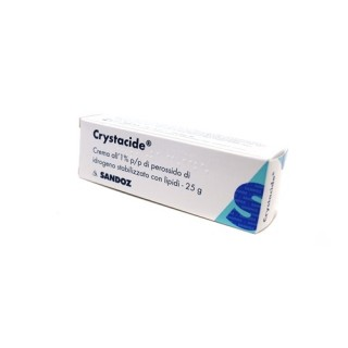CRYSTACIDE*CREMA 25G 1%