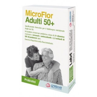 MICROFLOR ADULTI 50+ 30CPS